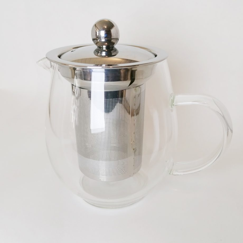 glass teapot - small