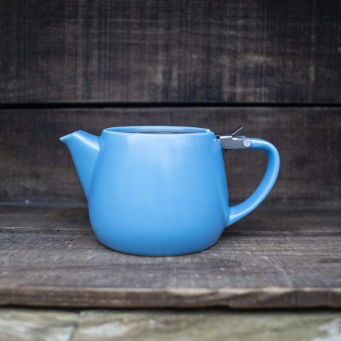 Blue Ceramic Teapot