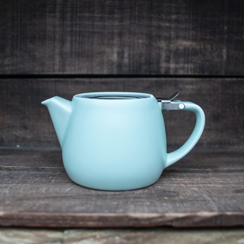 Mint Ceramic Teapot