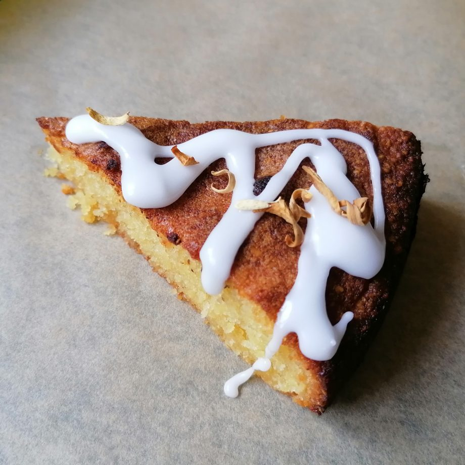 Orange Blossom Almond cake