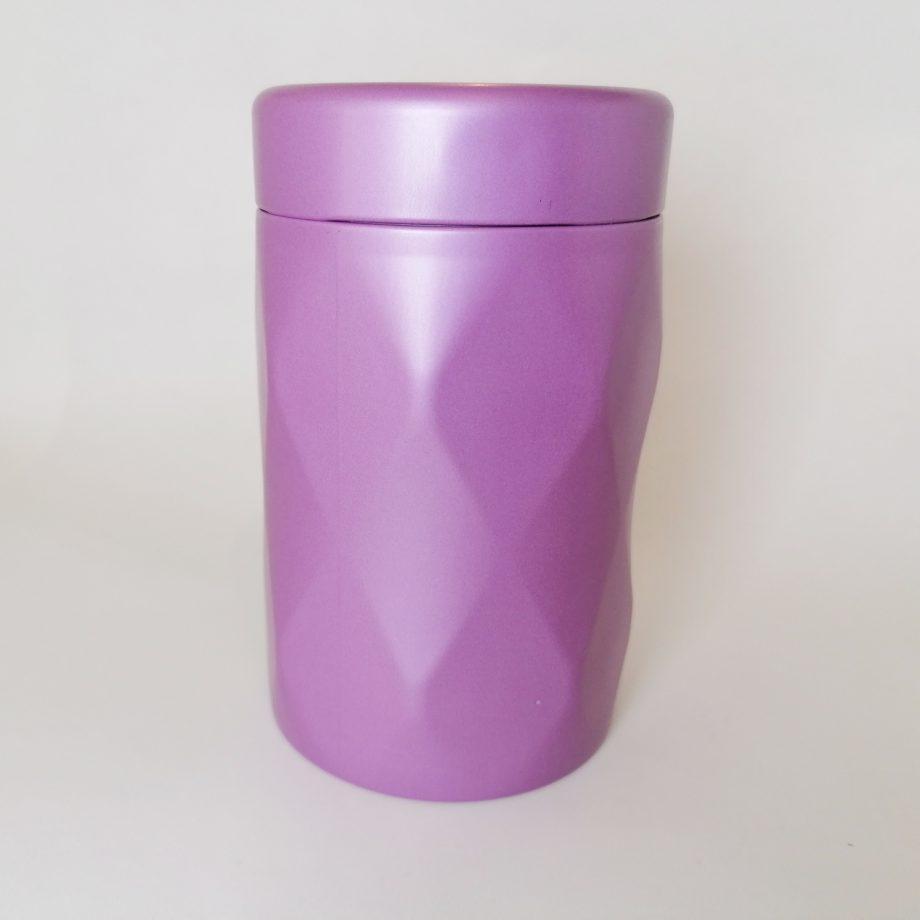 Jewel Tea Tin - purple
