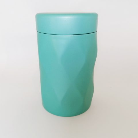 Jewel Tea Tin - teal