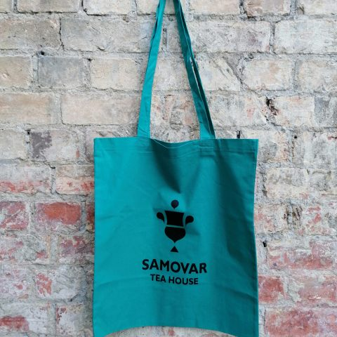 Samovar Tote Bag - Teal