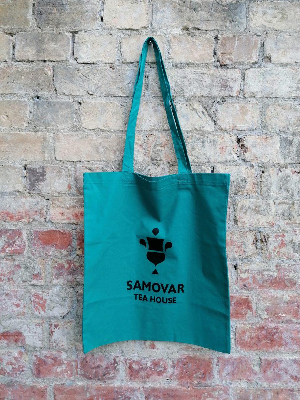 Samovar Tote Bag - Teal