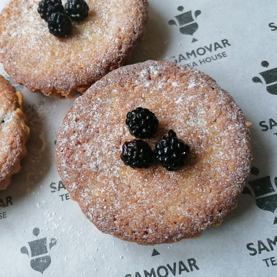 Blackberry Frangipane Tarts