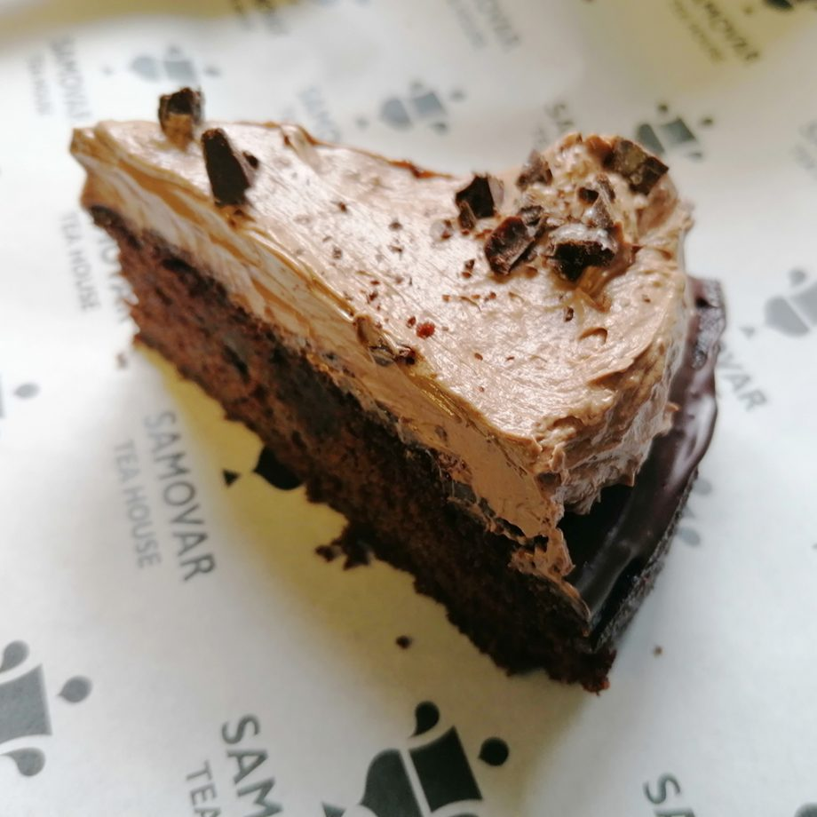 Chocolate Orange Crunch Cake