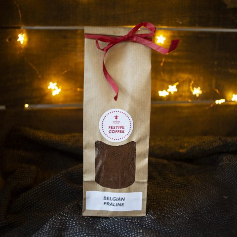 Festive Coffee Belgian Praline flavour