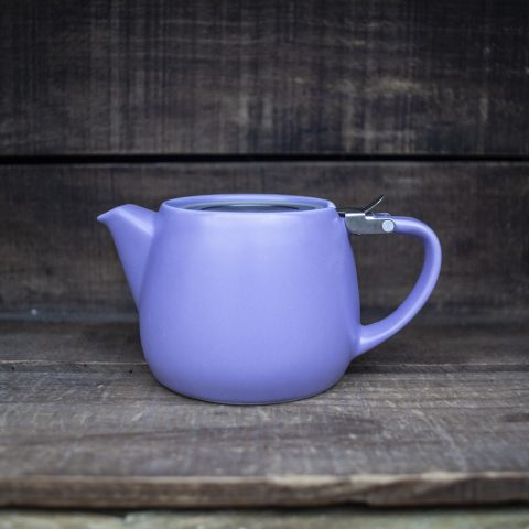 Purple Ceramic Teapot