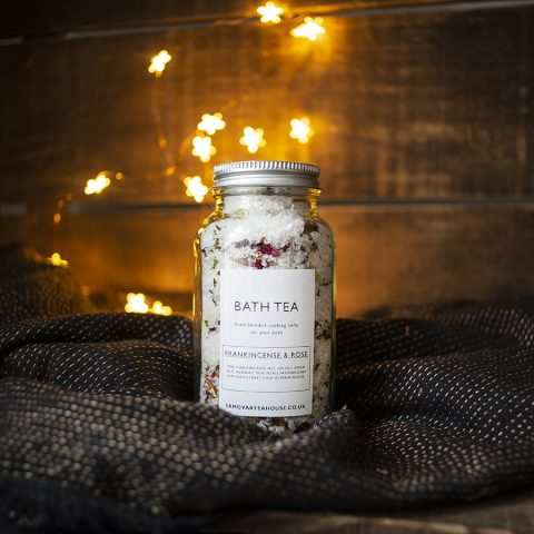 Frankincense and Rose bath salts