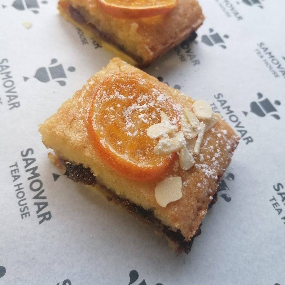 clementine mince pie frangipane